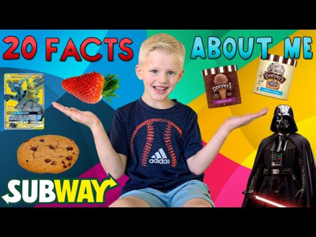 20 NEW Facts About 6 Year Old ME!!