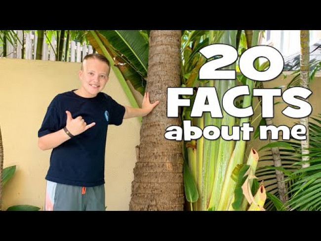 20 NEW Facts About Me - Something Even My Parents Don't Know!