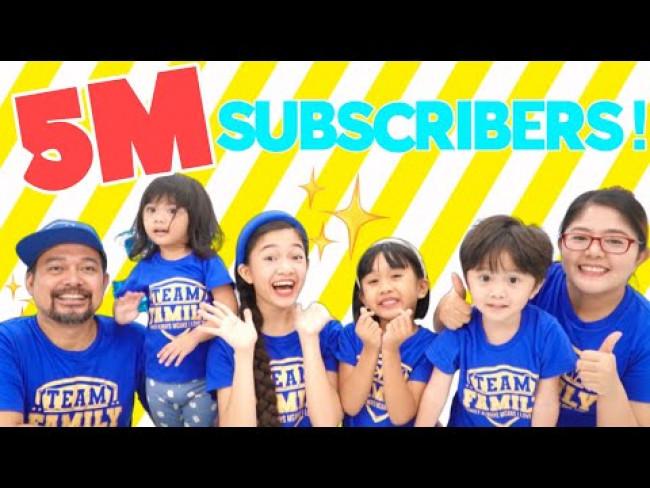 5 Million Subscribers