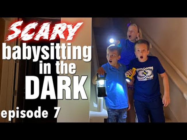 After Dark! The Cursed Babysitter Skit Ep. 7