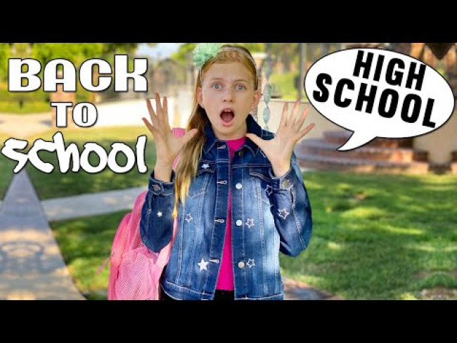 Alyssa Starts High School!