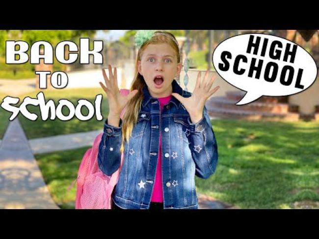 Alyssa Starts High School!