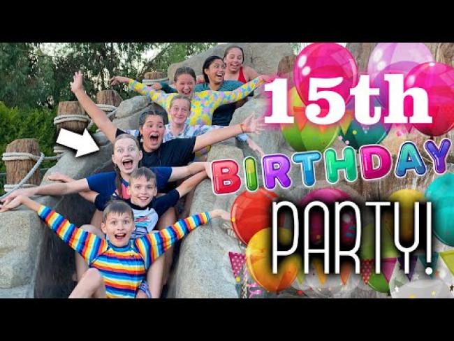 Alyssa's 15th Birthday Party!!