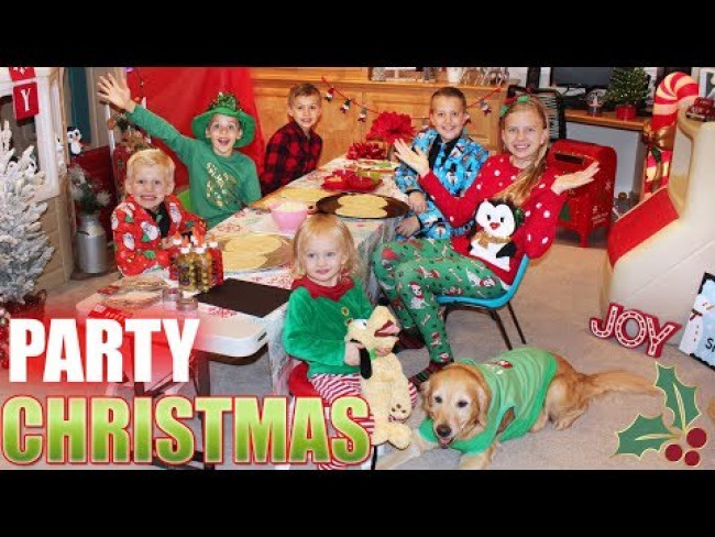 Alyssa's Annual Christmas Party!!