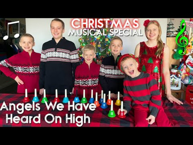 Angels We Have Heard on High - Family Fun Pack Handbell Choir Christmas Song