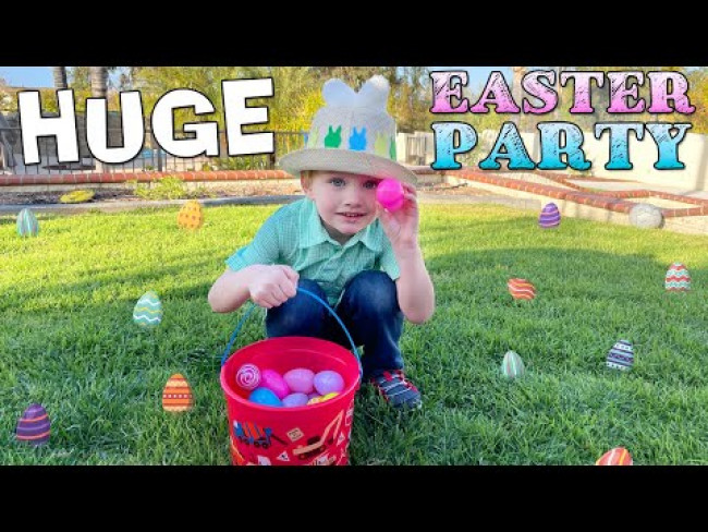 Annual Easter Party Skit - Spicy Peeps, Egg Hunt & More!