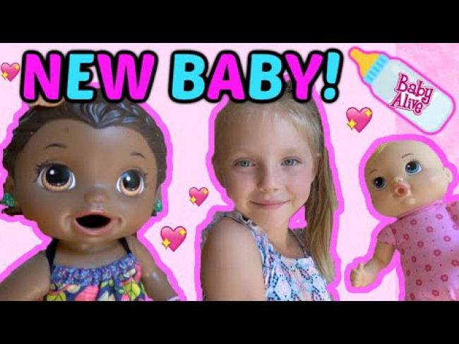 BABY ALIVE gets a SISTER and a TIME OUT! The Lilly and Mommy Show. The TOYTASTIC Sisters. FUNNY KIDS