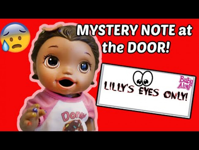 BABY ALIVE gets PRANKED! The Lilly and Mommy Show! The TOYTASTIC Sisters. FUNNY KIDS SKIT!