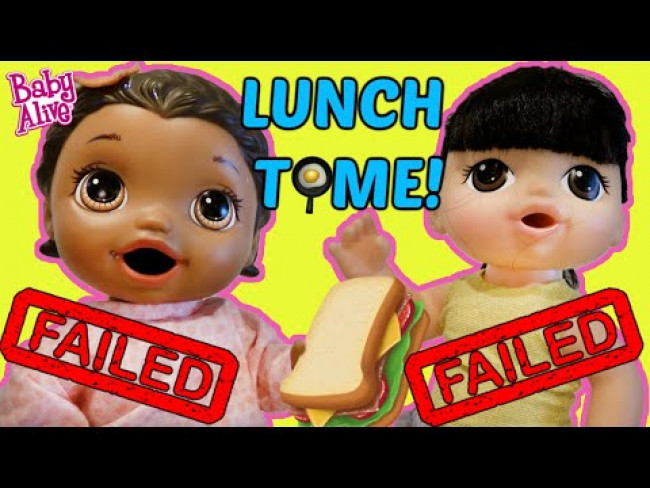 BABY ALIVE has a PLAY DATE! COOKING LUNCH for FRIENDS! The Lilly and Mommy Show! FUNNY KIDS SKIT!