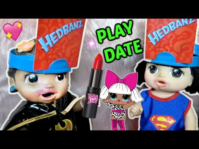 BABY ALIVE has a PLAY DATE! The Lilly and Mommy Show! The TOYTASTIC Sisters! FUNNY KIDS SKIT!