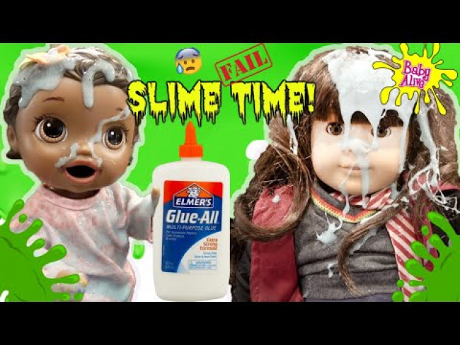 BABY ALIVE makes SLIME ft PRINCESS EMMA! The Lilly and Mommy Show! FUNNY KIDS SKIT!