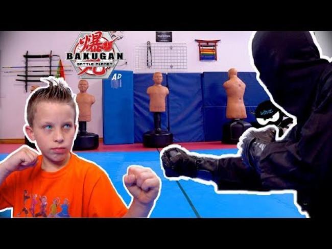 Bakugan Battle Planet Challenge! Ninja Kidz TV