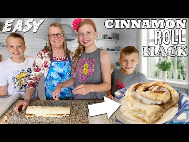 Best Homemade Cinnamon Rolls Hack || Kid Size cooking