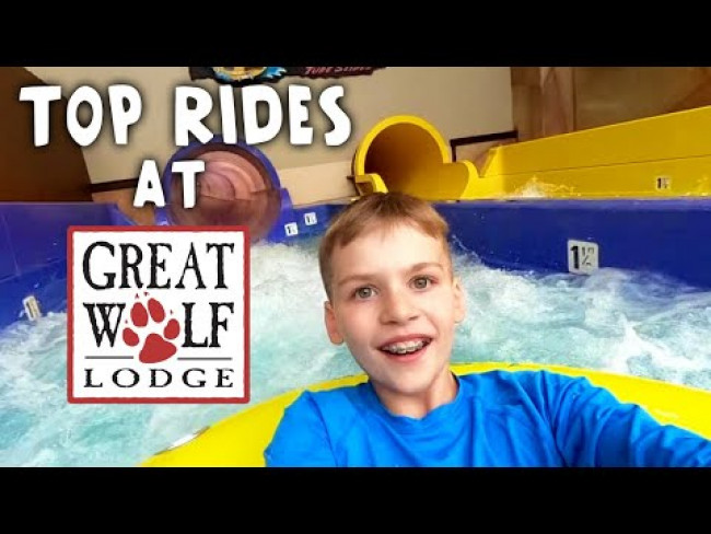 Best Rides at Great Wolf Lodge!