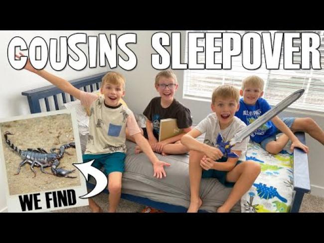 BFF Cousins Sleepover!