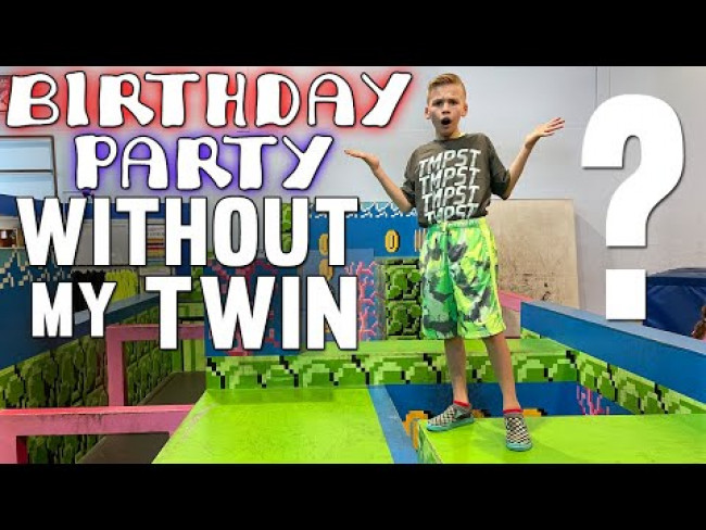 Birthday without My Twin Brother?!!!