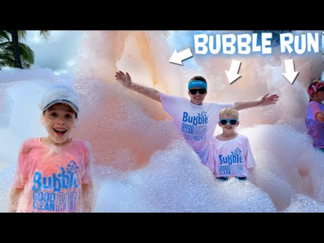 Bubble Run 5K Honolulu 2020 - Why We Finished VERY LAST!