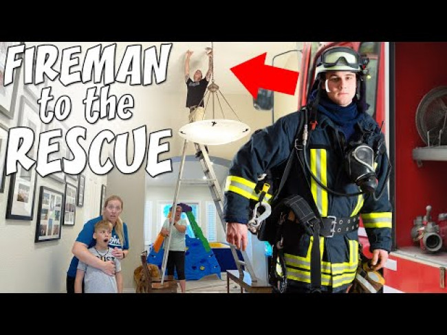 Called a Fire Fighter to Help! || Mommy Monday