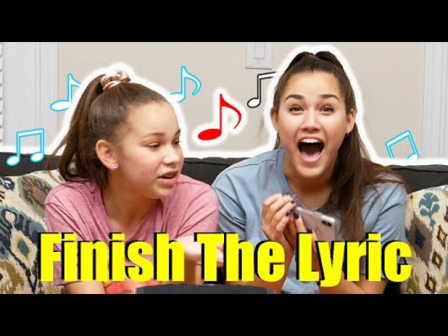 Can Haschak Sisters Remember Their Own Lyrics? (ROUND 2)