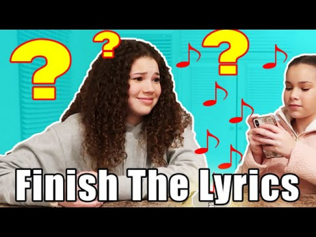 Can Haschak Sisters Remember Their Own Lyrics!? (Round 3)