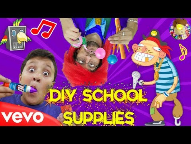 Candy (DIY School Supplies)