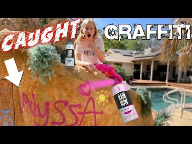 Caught them Doing Graffiti! || Mommy Monday