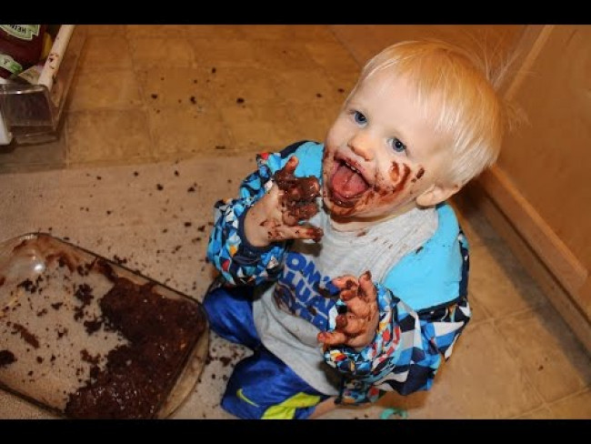 Chocolate Cake Disaster