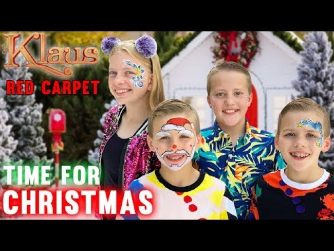 Christmas Face Paint, Soccer & Huge Fish Food Mess