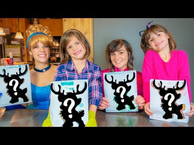 Cinderella's 3 Marker Challenge with Anna and Twins Kate & Lilly!!