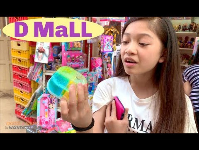 D MALL tour with Kaycee & Rachel