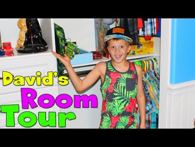 David's Room Tour