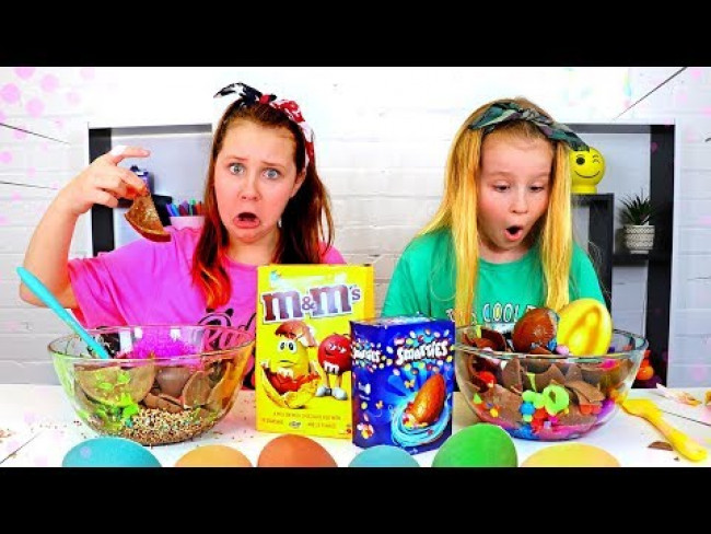 Don't Choose the Wrong EASTER EGG Slime Challenge!!