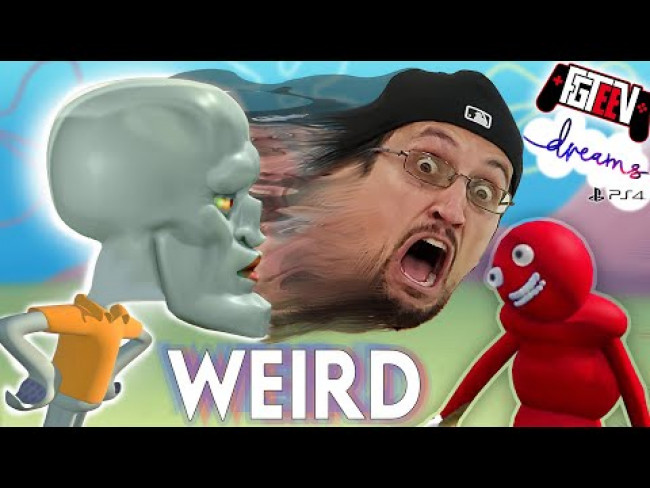 DREAMS, the WEIRDEST Video Games of 2020 ft. Baby Yoda, Trump, Handsome Squidward Spongebob (FGTeeV)