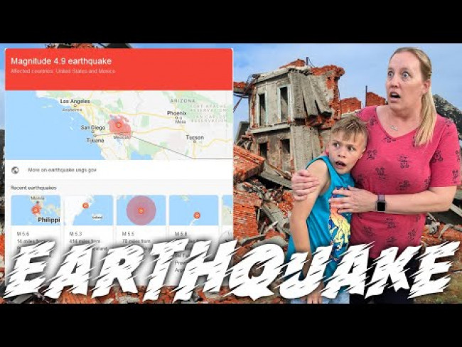EARTHQUAKE!! || Mommy Monday