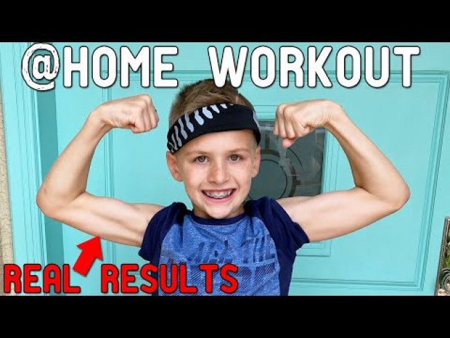 Easy Home Workout Routine with Zac