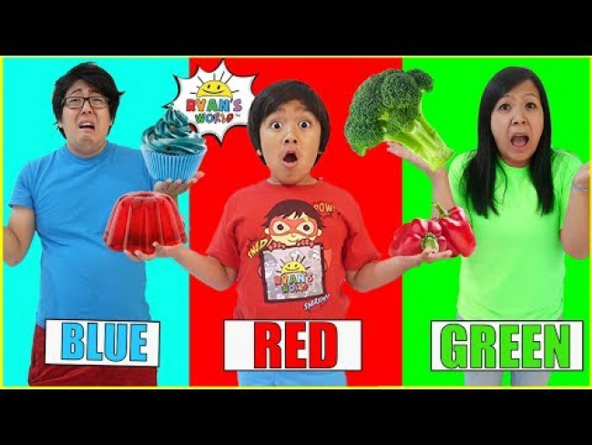 Eating only ONE color food for 24 Hours!!!