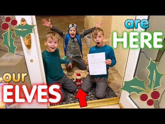 Elf on the Shelf Arrives!! Leaving for Las Vegas || Mommy Monday