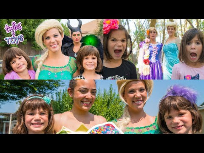 Elsa, Tiana, and Rapunzel TEACH Kindness and Honesty