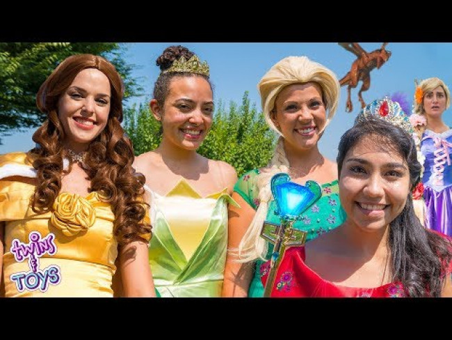 Elsa, Tiana, Jasmine, Belle, Rapunzel and Elena Princess Collection!!