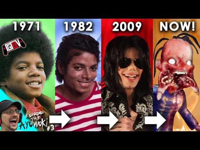 EVOLUTION OF MICHAEL JACKSON! (FGTeeV ESCAPE the AYUWOKI Pt. 3 - Chapter 2)