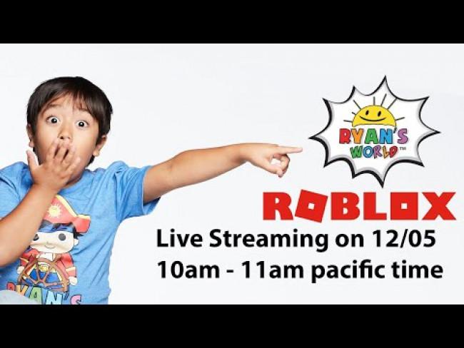 Exciting News! Ryan's World + Roblox =.......?