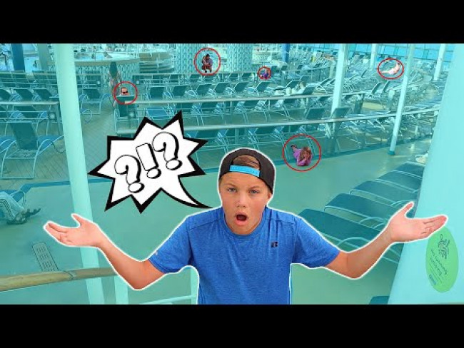 EXTREME Hide and Seek on a CRUISE!
