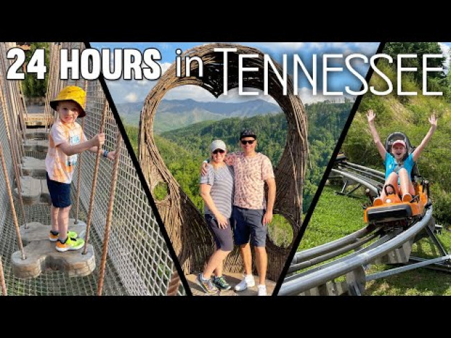 Facing All Our Fears in 1 Day -- Zip Line, Mountain Coasters, Heights & Bears!