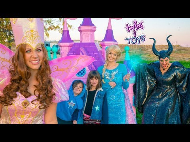 Fairy Godmother SAVES Elsa, Kate & Lilly from JAIL!!