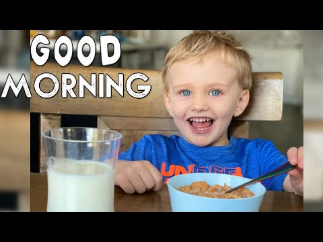 Family Morning Routine - With a Challenge Twist!! || Mommy Monday