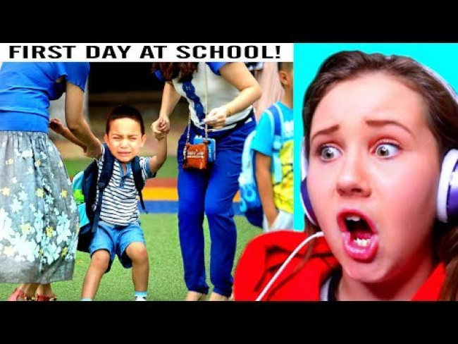 FIRST DAY BACK TO SCHOOL TANTRUMS (Funny Reactions)