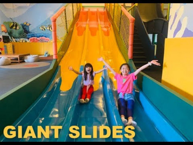 Giant Slides Indoor Playground