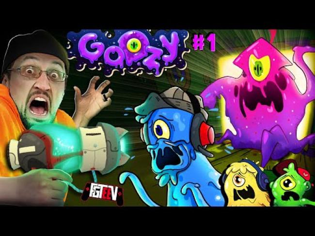 GOOZY #1!  Slime Monster Prop Hunt (FGTeeV's New Mobile Game)