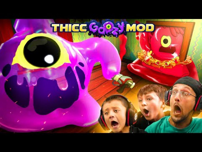 GOOZY Thicc MODS! 1 Too Many Butts Stuck! Hilarious PC Update! (FGTeeV #5)