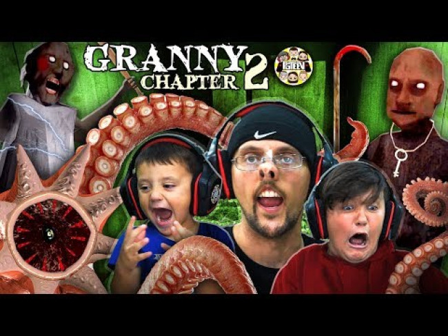 GRANDPA HOUSE? GRANNY Chapter Two: Sewer Creature! (FGTEEV INTENSE Gameplay)